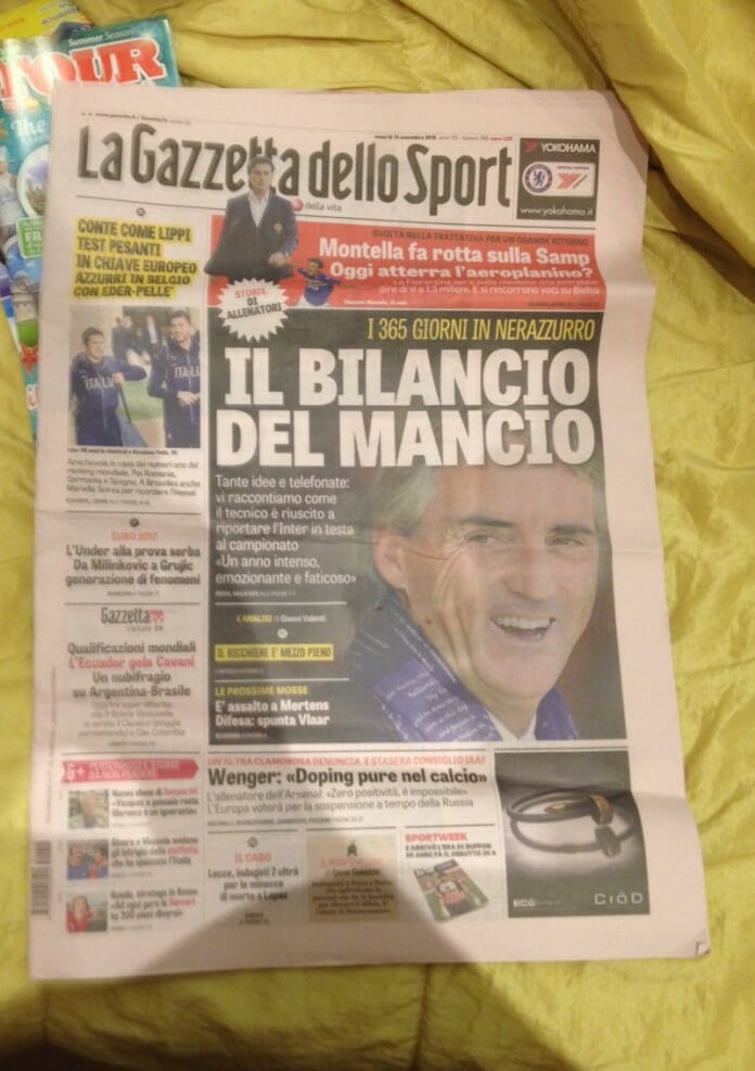 11la gazette dello sport