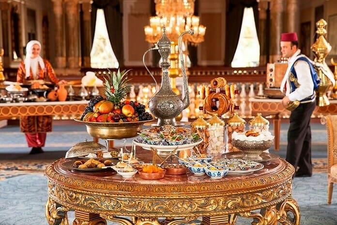 tugra restaurant iftar sofrasi besiktas
