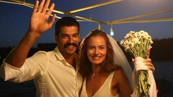 Yılın Düğünü! Fahriye Evcen ve Burak Özçivit'in Düğününden İlk Kareler