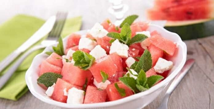 karpuz salatası