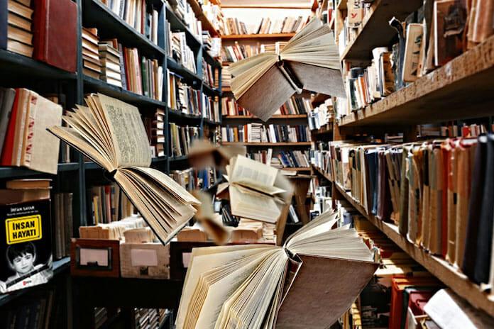 kütüphane kokusu
